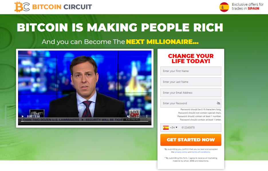 Bitcoin Circuit   Screenshot